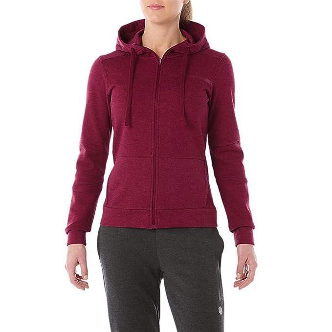 ba68f6ac4ffad7 Asics Tailored Full Zip Women's Hoodie - AW18 - XL: Amazon.it ...