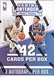 2017-18 Panini Contenders Draft Picks Collegiate Basketball Blaster Box 7 Packs of 6 Cards: 1 Autograph, 14 Season Ticket cards, 12 Inserts