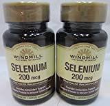 Windmill Selenium 200 mcg Tablets 60 Tablets (Pack of 2)