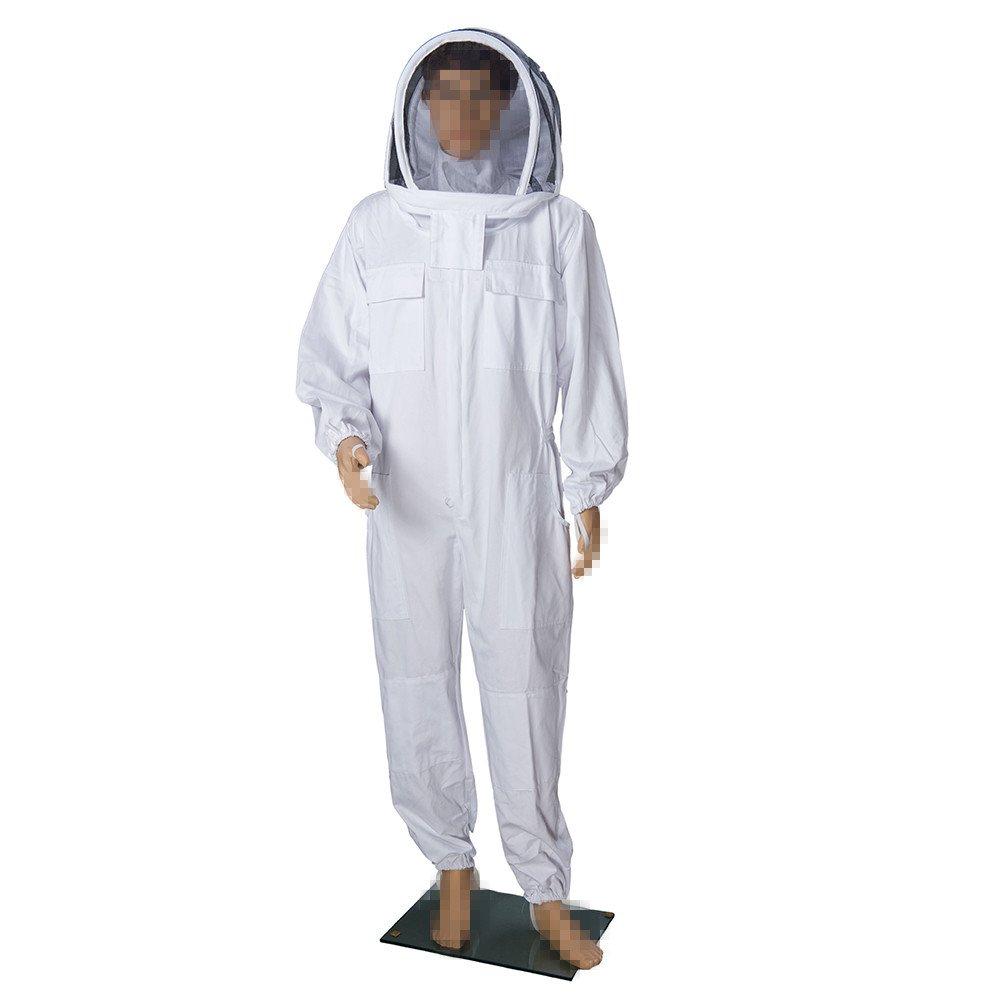 Nuevo 100% algodón profesional apiario traje de Apicultura ...