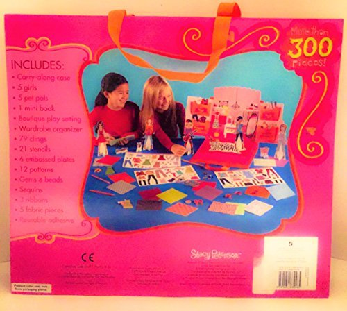 Stacey Peterson Fashion Dress up dolls 300 piece Gift set