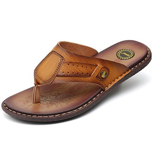 a26aef61b728 MVVT Sandals Leather Microfiber Casual product image