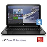 "HP Touchsmart 15 Sleekbook Quad Core up to 2.0GHz 8GB RAM 15.6"" HD Touch WLED Webcam DVD+/-RW WiFi USB 3.0 HDMI (Certified Refurbished)"