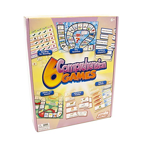 - Junior Learning 6 Comprehension Games