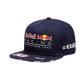 Red Bull Racing Enfants RBR vers Piège Flat Kids Casquette, Bleu, Taille  Unique 47cabb35d80