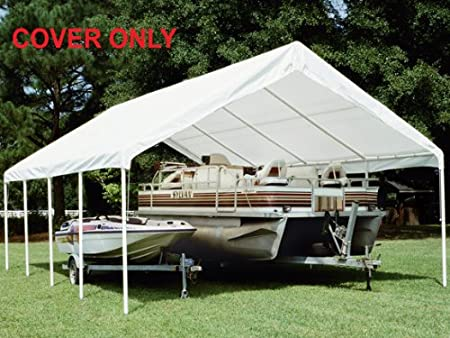 King Canopy 18 x 27 ft. Canopy Replacement Drawstring Carport Cover PIC America Ltd TDS1827-5