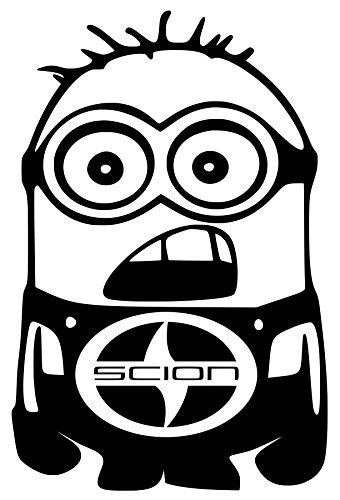 scion-tc-minion-vinyl-die-cut-decal-white-sticker-5-width-by-75-height