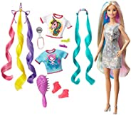 Barbie Fantasy Hair Doll, Multi