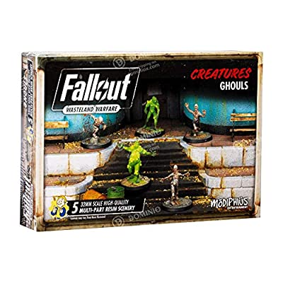 Fallout: Wasteland Warfare - Ghouls: Toys & Games