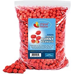 French Burnt Peanuts Candy - Bulk Candy 4 LBS