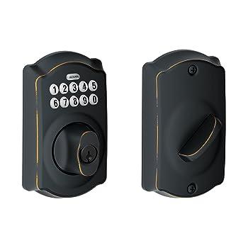 Schlage 09723009827 Keyless Door Lock