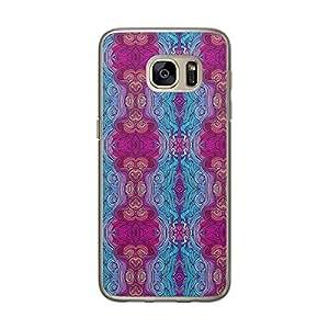 Loud Universe Samsung Galaxy S7 Hair Hairs 20 Designed Transparent Edge Case - Multi Color