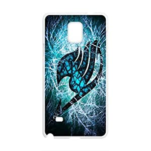 Blue green fairy tail Cell Phone Case for Samsung Galaxy Note4 WANGJING JINDA
