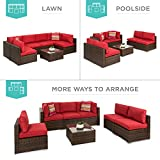 Best Choice Products 7-Piece Modular Outdoor