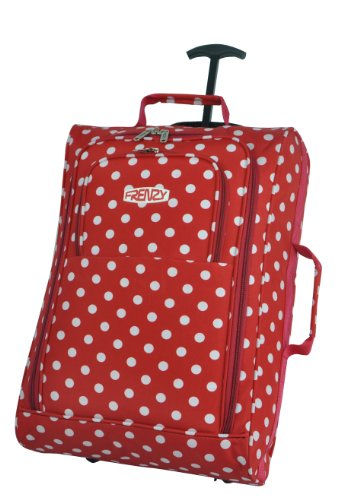 5 Cities – Maleta  Red Polka Dot carry-on