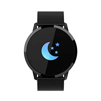Newwear Q8 - Reloj Inteligente con Monitor de Salud (IP67, Impermeable, Pulsera Inteligente con Bluetooth, Pulsera de Seguimiento de Actividad para ...