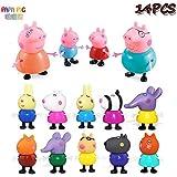 ペッパピッグ Peppa Pig ファミリー フィギュア ミニドール 人形 14体セット■B788_14