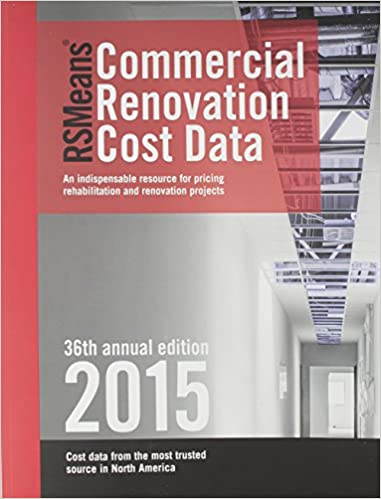 Book Rsmeans Commercial Renovation Costs (Means Commercial Renovation Cost Data)