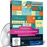 Moderne Webseiten entwickeln - Über 12 Stunden Praxiswissen zu allen Webtechnologien inkl. HTML5, CSS3, JavaScript, AJAX, PHP 5.5, Datenbanken, SEO, Frameworks u.v.m