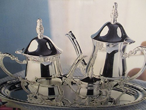 FIVE PIECECOFFEE AND TEA SET, SILVERPLATE
