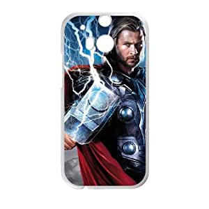 Thor'S Hammer 007 funda HTC One M8 Cubierta blanca del teléfono celular de la cubierta del caso funda EVAXLKNBC11630