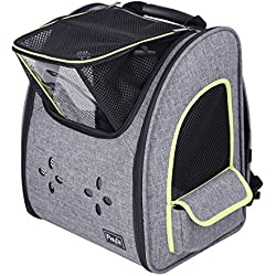 Petsfit Dogs Carriers Backpack for Cat/Dog/Guinea Pig/Bunny Durable and Comfortable Pet Bag