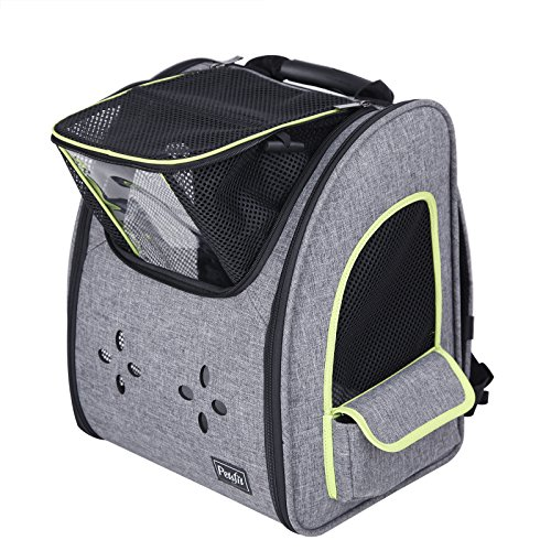 Petsfit Dogs Carriers Backpack for Cat /Dog/Guinea Pig/Bunny Durable and Comfortable Pet Bag