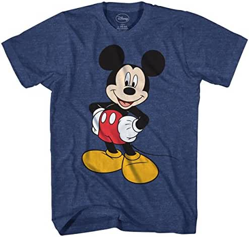 Disney Men's Mickey Wash Short Sleeve T-Shirt
