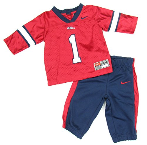 newest f3403 2a5b3 Ole Miss Rebels Baby Football Jersey and Pants Uniform - Buy ...