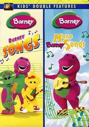 Amazon com: Barney - Barney Songs / More Barney Songs