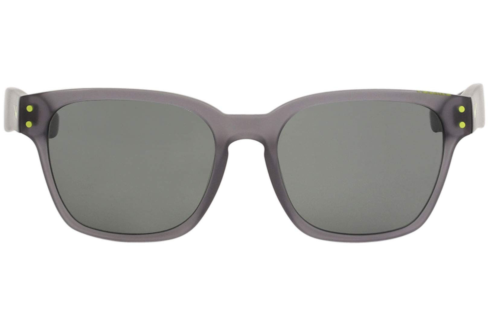 Nike EV0877-003 Volano Sunglasses (One Size), Matte Crystal Grey/Cyber, Grey Lens by Nike (Image #2)