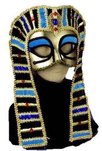 Forum Novelties Incredible Character Egyptian Costume Half-Mask Cleopatra ()