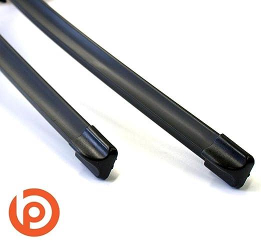 Aero Discos Borrador Juego Delantero WISCH hojas 600/400 mm multifunción: Amazon.es: Coche y moto