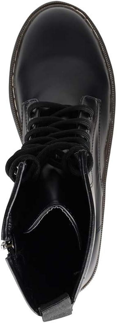 Elara Damen Stiefelette Worker Boots Chunkyrayan HL02 Black-36