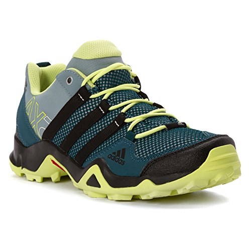 adidas outdoor Women's AX2 Hiking Shoe Viridian/Black/Semi Frozen Yellow