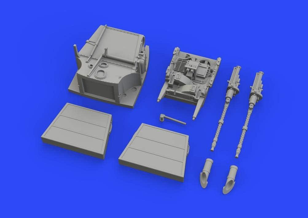 Various Eduard EDB648473 Brassin 1:48-Bf 109E Fuselage Guns Model Kit