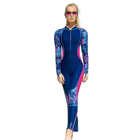 YuanDian Hombre Mujer Traje De Buceo Surf Mono Proteccion ...