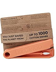 LastSwab Beauty Reusable Cotton Swabs for Makeup Removal - Eco friendly q tips - Pointed q tips - Easy to Clean - Designed in Denmark