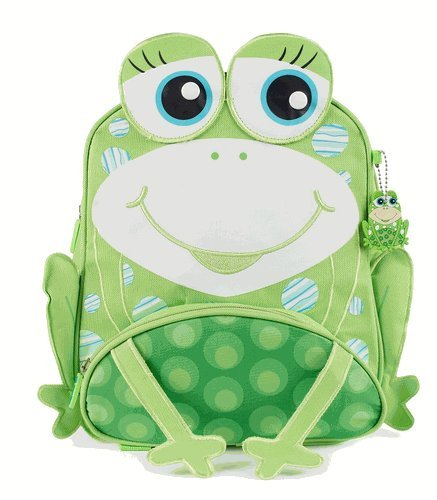 Green Frog Friends Little Kids Backpack, Lunch bag, School bag for Toddlers and Kids, Boys and Girls Cute Frog Design by Green Frog   B017TAWGS2