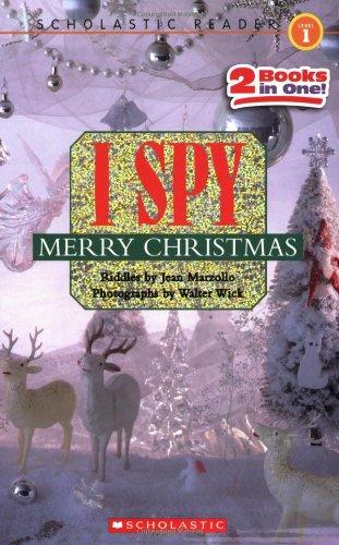 Scholastic Reader Level 1: I Spy Merry Christmas