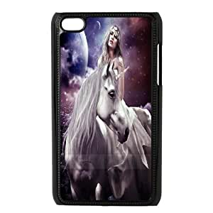 Horse & Unicorn series protective cover FOR IPod Touch 4 A-unicorn-B53321