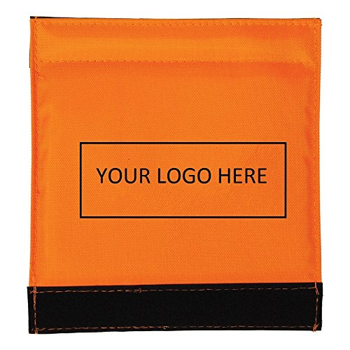 Luggage Spotter Handle Wrap Bag Tag with Inside ID Pocket to Insert Business Card - 100 Quantity Bulk - $1.95 Each includes logo - PROMOTIONAL PRODUCT BRANDED w/ YOUR LOGO / GREAT TRADE SHOW GIVEAWAY! by China (Image #4)