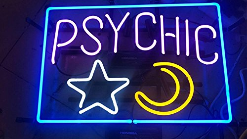"Desung Brand New 17""x13"" Psychic Reader Open Neon Sign (Various sizes) Beer Bar Pub Man Cave Business Glass Neon Lamp Light DB271"