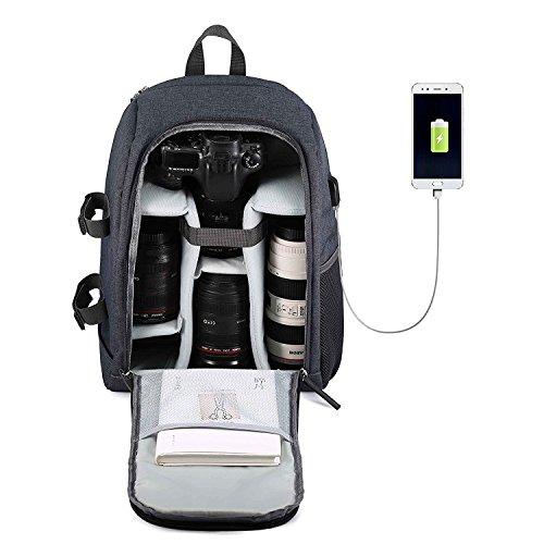 Camera Backpack Waterproof Nylon DSLR Backpack Professional