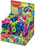 Maped Boogy 1 Hole Pencil Sharpener - Assorted Colours (Pack of 75) 063211