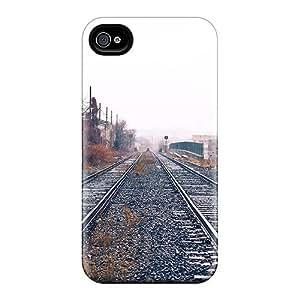 Hot Tpye Railroad Depot Tracks Ipod Touch 4