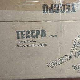 TECCPO Tijeras Cortacésped, 7.2V Tijeras Cortacésped a ...
