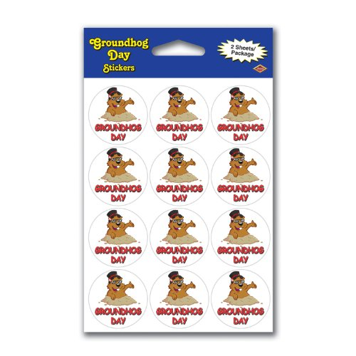 Groundhog Stickers - 9