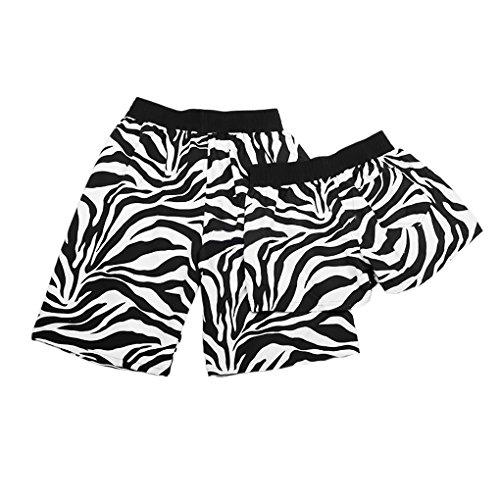 207c3eac876e Bao Core Short de Plage Bain Maillot de Bain Surf Sport Femme Homme Coton  Eté Grande Taille Imprimé Fleurs Short Piscine Désinvolt et Sportif Tassel  Casual ...