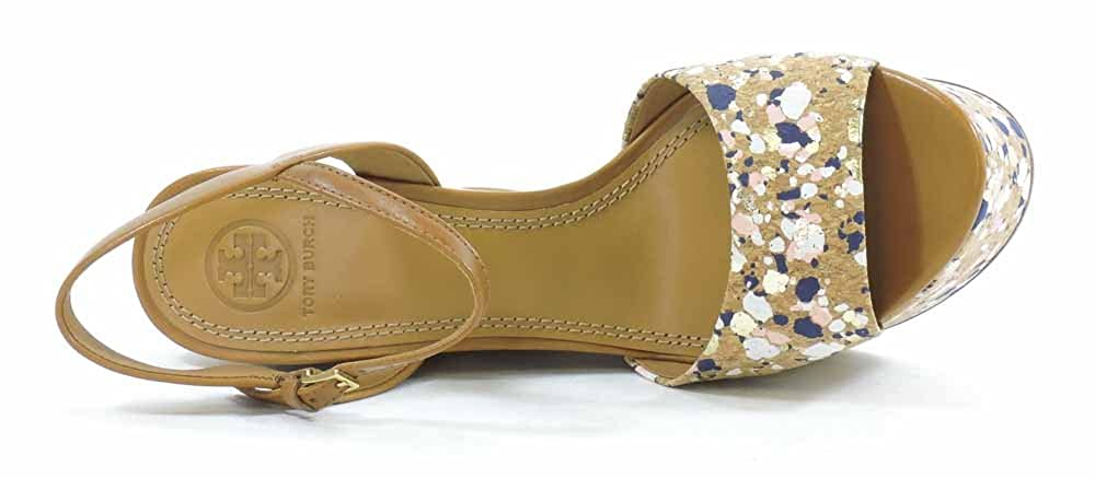 9b8a5eb973e9 Tory Burch Solana Confetti Platform Wedge Sandal